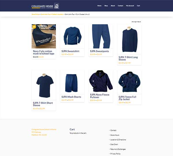 ecommerce website worcester ma
